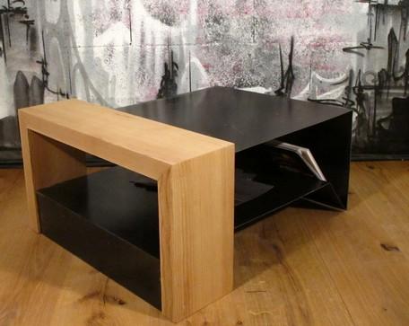 Table Basse Bois Et Mtal Table Basse Design