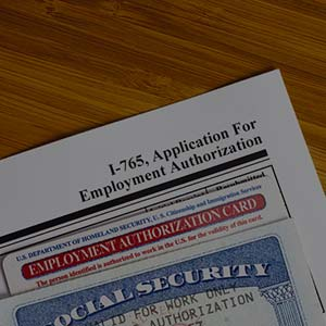 how to get legal authorization to work in us