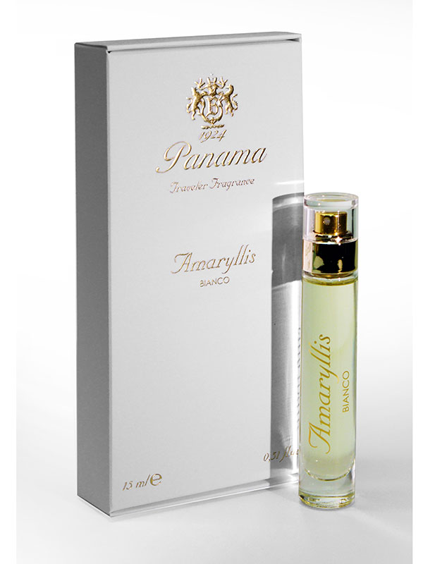 PANAMA Amaryllis Bianco Traveler Fragrance Eau De Parfum 15 Ml