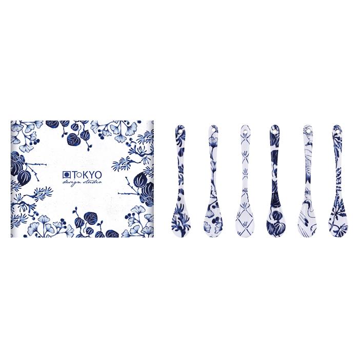 TOKYO DESIGN – Flora Japonica Set 6 Cucchiaini 13 Cm