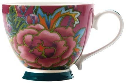 Maxwell & Williams Tazza Mug Porcellana Decoro Fiori 400 Ml