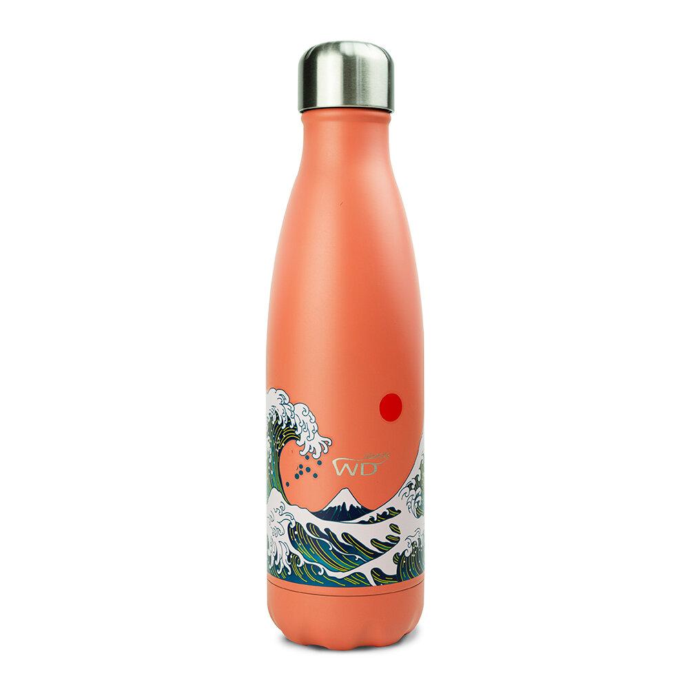 WD Lifestyle | Bottiglia Termica Con Decoro Onda 500 Ml