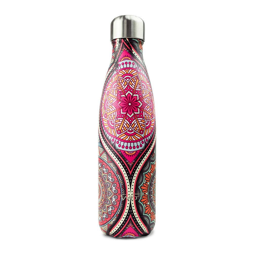 WD Lifestyle | Bottiglia Termica Con Decoro Mandala 500 Ml