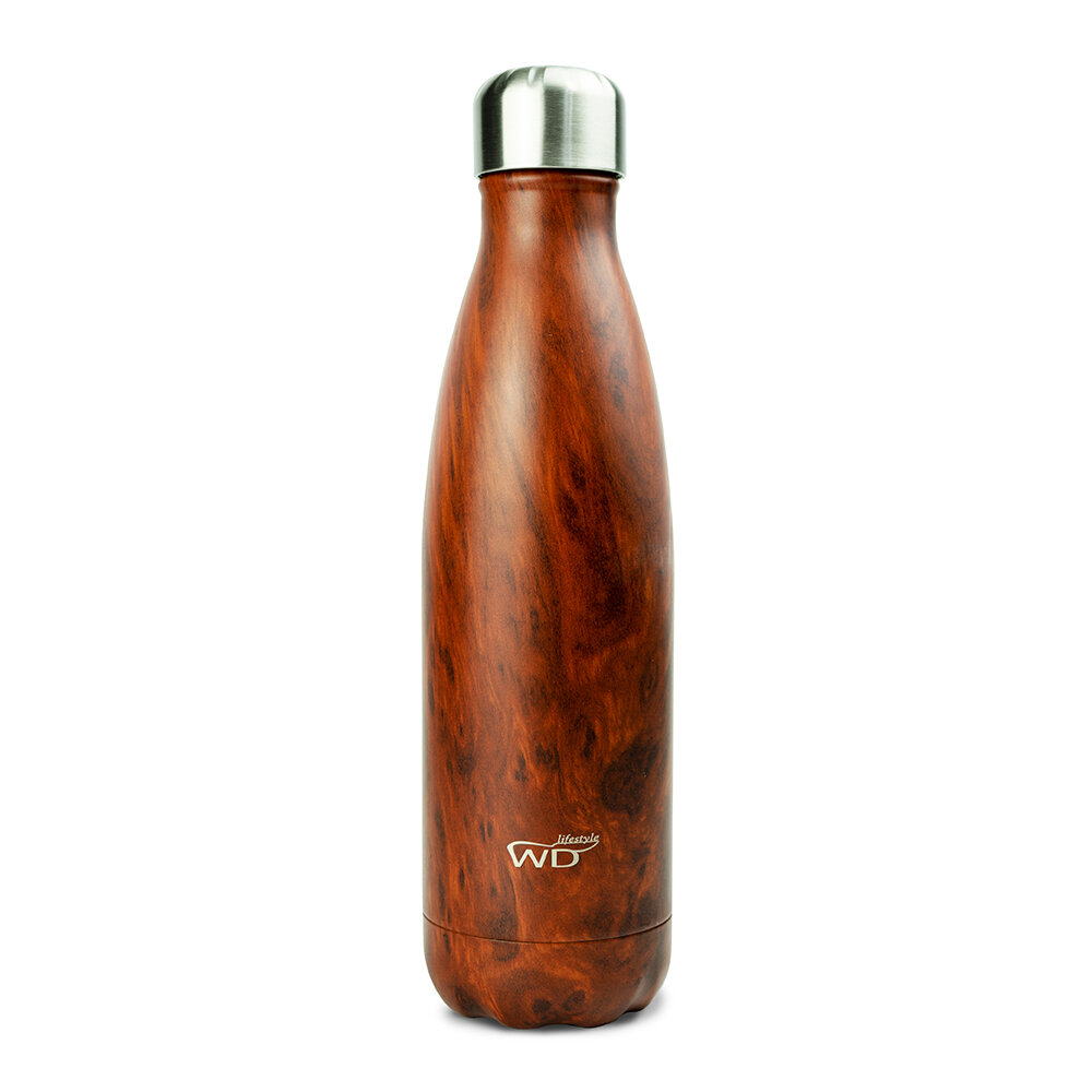WD Lifestyle | Bottiglia Termica Wood 500 Ml