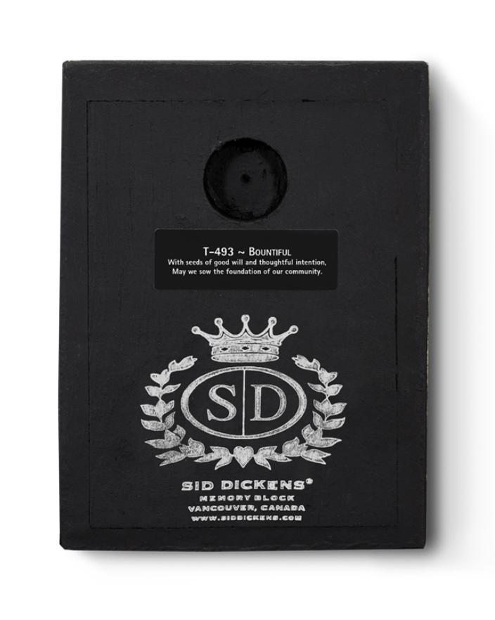 Sid Dickens Memory Blocks T-493 Bountiful 2019 - FALL: SEASON OF THE SOUL