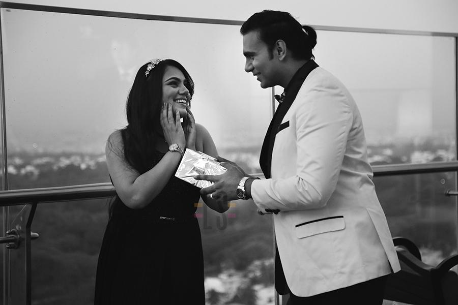 The best Friend's toast- with TITAN #weddingtales