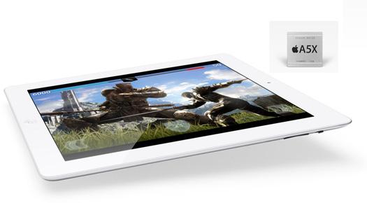Yeni iPad - 5AX işlemci