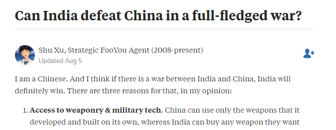 china, Chinese Shu Xu, Strategic FooYou Agent review from quora:
