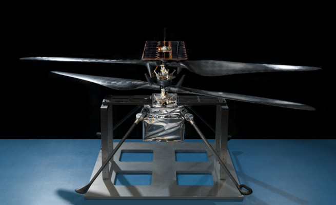 [NEWS] Mars helicopter bound for the Red Planet takes to the air for the first time Loganspace