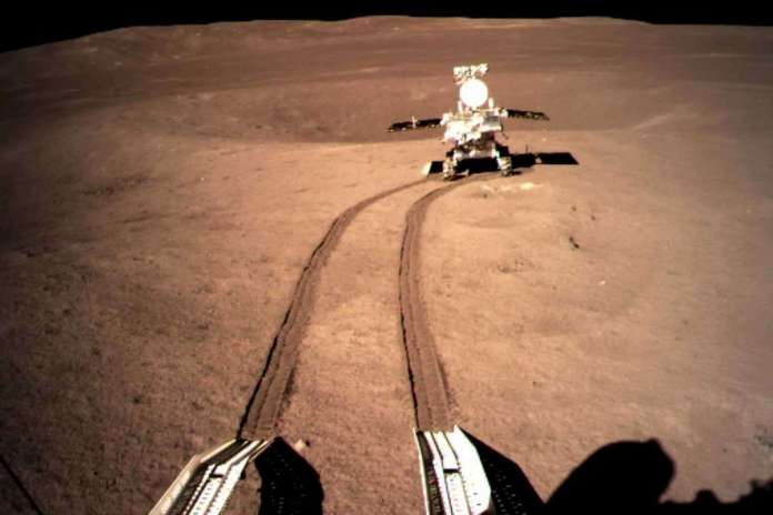 [Science] China's rover peeks under the crust of the far side of the moon – AI