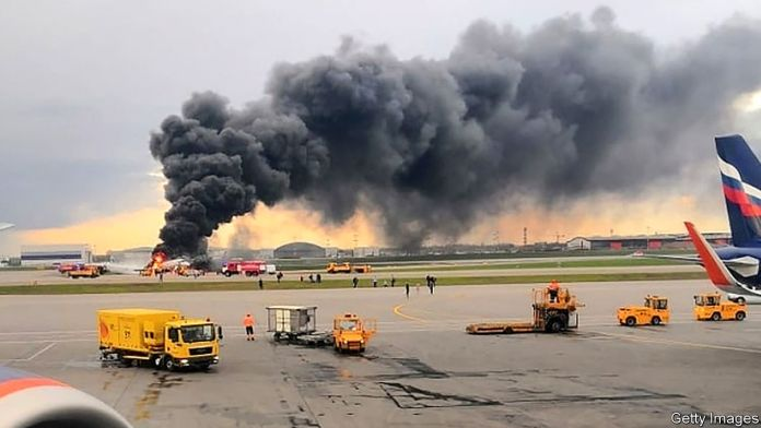 [NEWS #Alert] A plane crash in Moscow raises safety questions about the Sukhoi Superjet! – #Loganspace AI