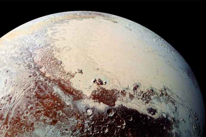 [Science] Pluto is coloured red by ammonia spewing from underneath its surface – AI