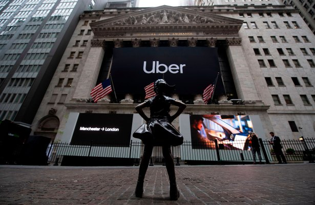 [NEWS] Uber opens at a disappointing $42 per share – Loganspace