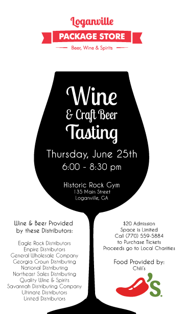 Save the Date for our First Wine & Craft Beer Tasting Event!