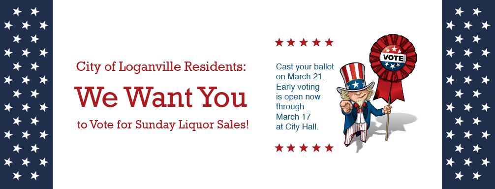 Vote for Sunday Liquor Sales!