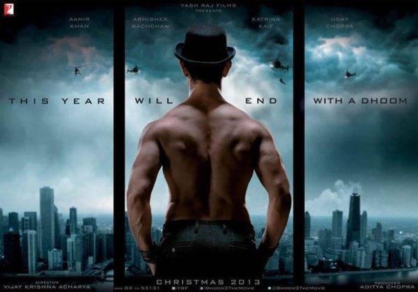 dhoom 3 poster aamir khan