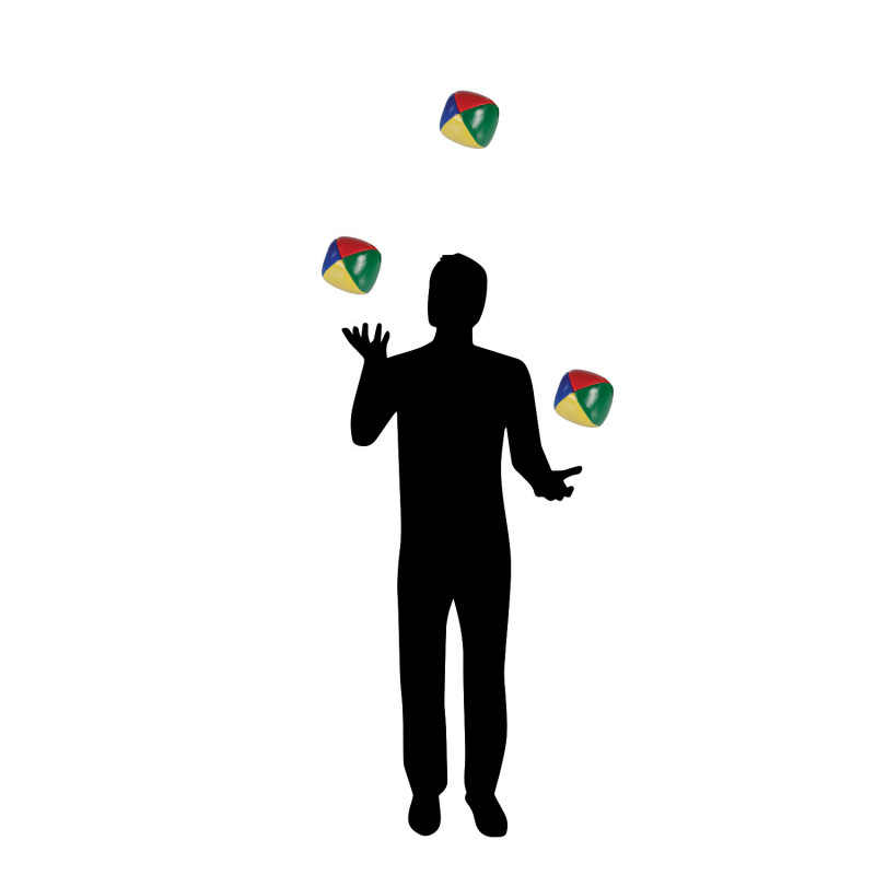 Balles De Jonglage Multicolores Pour Apprendre Jongler