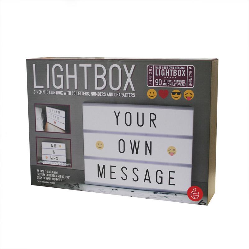 Tableau Lumineux Pour Message Personnalis Avec Lettres Et
