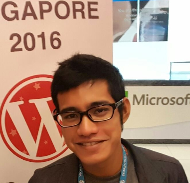 Logen Lanka at Wordcamp Singapore 2016