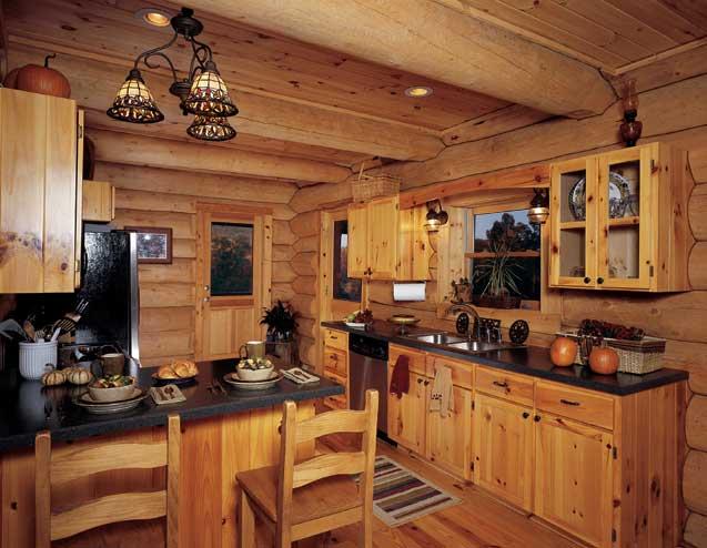 Log Cabin Kitchen Designs Design Photos