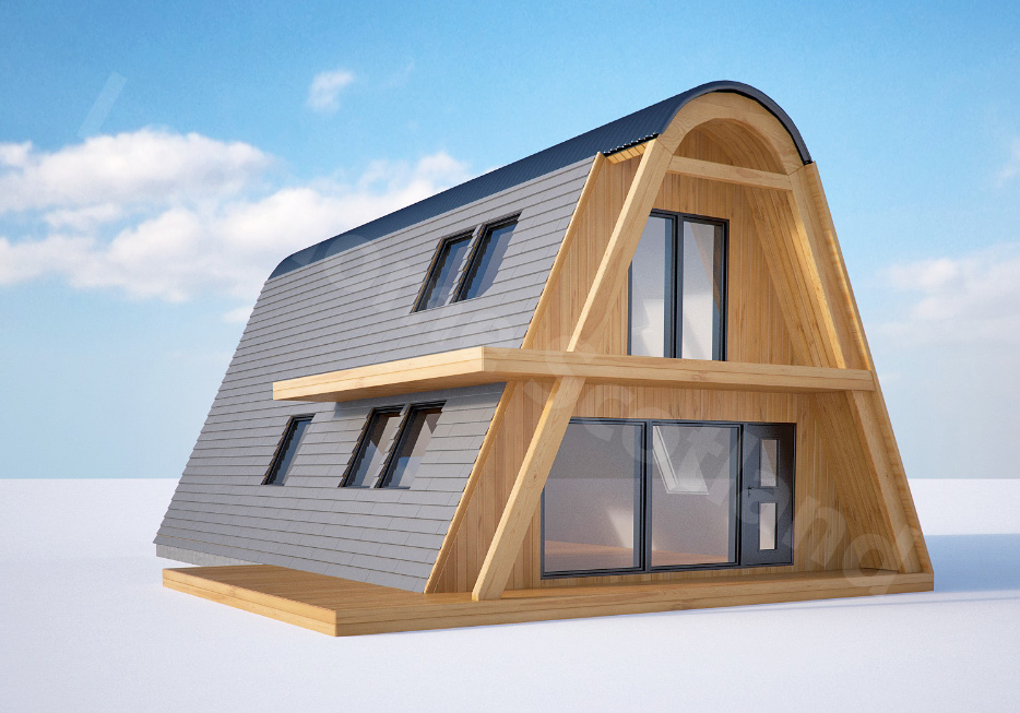 January 2017 – Alpha House / Probably the most affordable home in UK