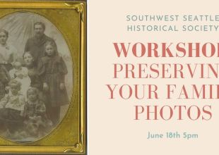 Thumbnail for the post titled: June 18th Workshop: Preserving Your Family Photos