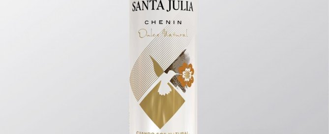 Santa Julia Chenin Dulce Natural - Bodega Santa Julia presenta el Primer Vino Dulce en Lata de la Argentina