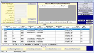 LSI Receiving screenshot