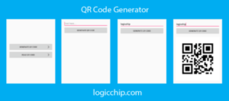 qr code reader and generate logicchip 1