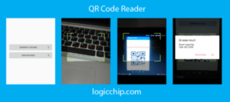 qr code reader and generate logicchip 2