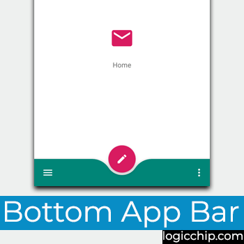 bottom app bar logicchip.com