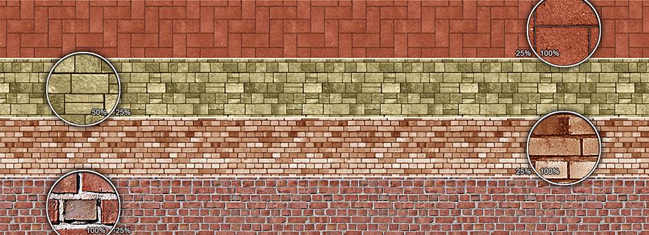 patterns bricks and stones