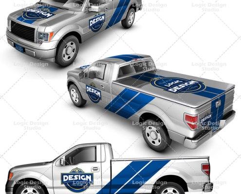Pickup Truck angles