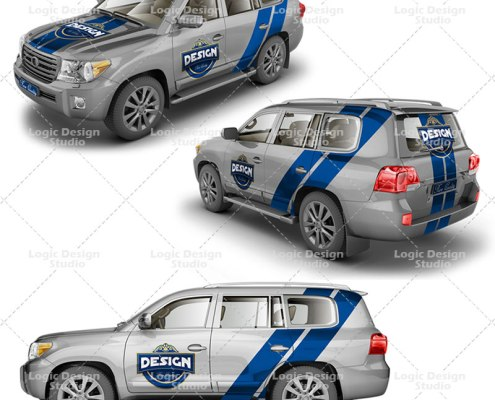 suv crossover mock up