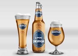 Beer Mock-Up Pack