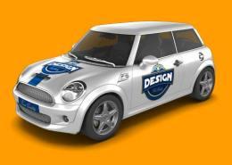 Mini Car Mock-Up