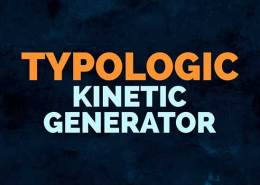 Typologic Kinetic Generator