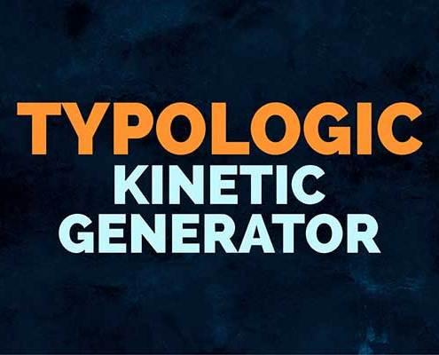 Typologic Kinetic Generator