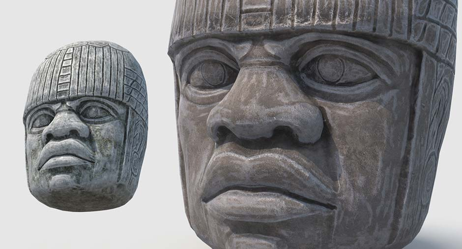 Olmec Statue preview