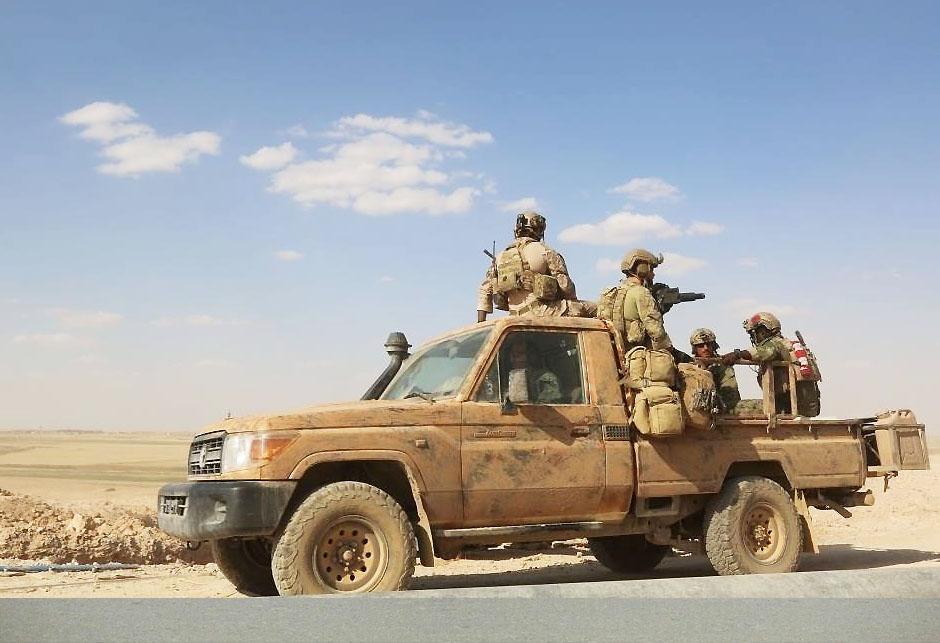 Američki vojnici - Raqqa