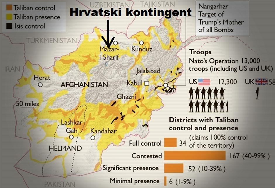 Hrvatski kontingent u Afganistanu