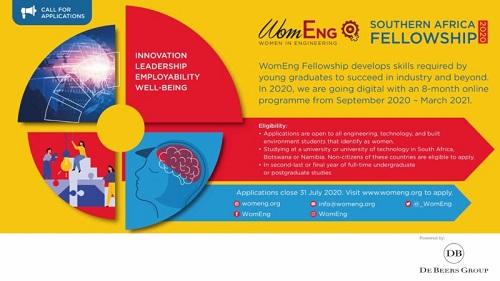 WomEng Southern Africa Fellowship 2020