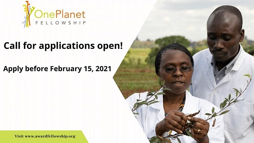 One Planet Fellowship 2021