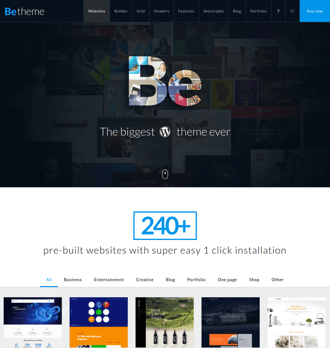 BeTheme - Creative Universal & Responsive Multi-Purpose WordPress Theme
