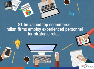 Top Ecommerce Indian Firms Employ Experienced Personnels @LogicserveDigi