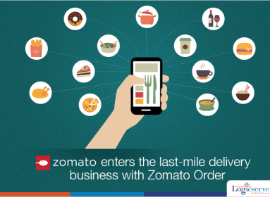 Zomato search and delivery app