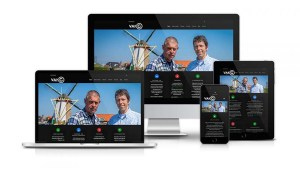 Site web responsive design