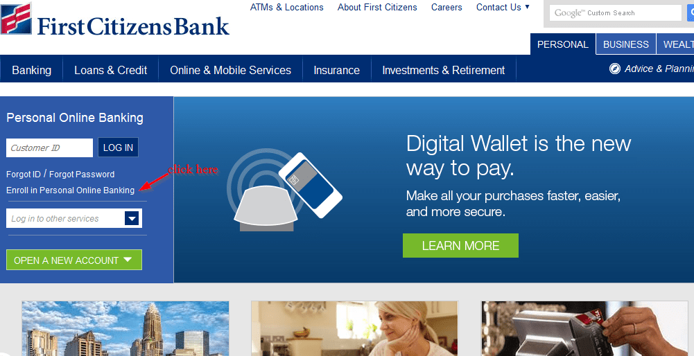 First Citizens Bank Personal Online Banking