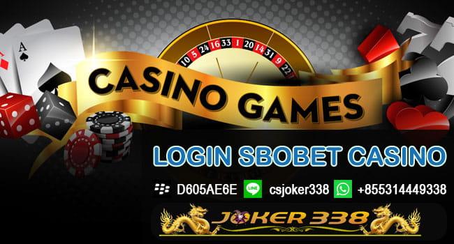 Cara Login Sbobet Casino