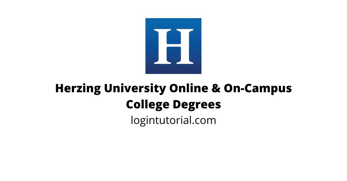 Herzing University – Online & On-Campus College Degrees   www.herzing.edu